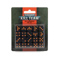 Kill Team Adeptus Ork Kommandos Dice Set