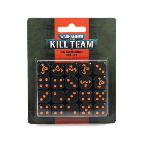 TR-102-82-99220103006- Kill Team -Ork Kommandos Dice Set
